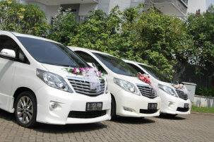 Wedding Car Toyota Alphard