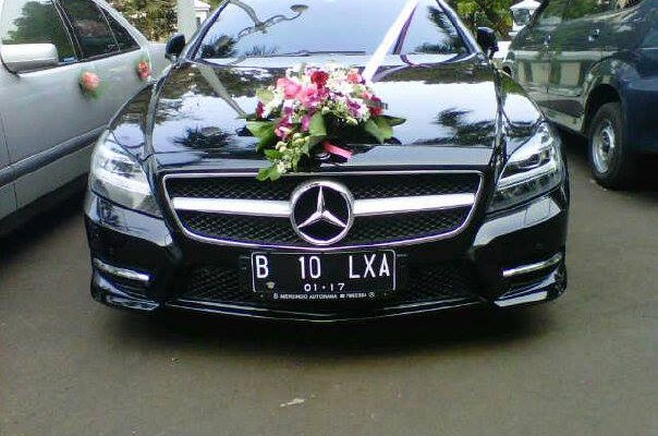 Wedding Car Mercedes Benz CLS 350 AMG